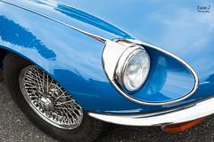 Jaguar type E V12 (Trialxav) Tags: rassemblements voitures automobiles anciennes recentes cars old lescar jaguar type e v12 quartier libre juin 2016 worldcars