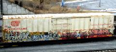 gimer - smyl - dekoy - reser '06 (timetomakethepasta) Tags: indecline etc gimer gime smyl dekoy reser freight train graffiti fargo cryotrans cryx e2e