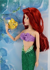 2016 Ariel Classic 12'' Doll - US Disney Store Purchase - Deboxing - Cover Off - Midrange Front View (drj1828) Tags: disneystore doll 12inch classicprincessdollcollection 2016 ariel flounder purchase deboxing