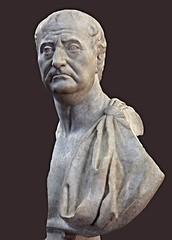 Ancient Rome. Portrait of a Roman Man, c. 20-50 CE (mike catalonian) Tags: portrait male bust marble ancientrome 1stcenturyad 50ce