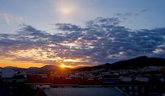Salida del sol al amanecer ..... (davidgv60) Tags: espaa ski color sunrise dawn spain natural natur amanecer cielo panoramica nubes fujifilm nwn xt10 david60 sunrisepaisatgesalcoi photodgv