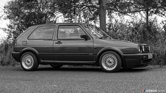 Golf GTI mk2 (Kieron Marr) Tags: blue classic cars golf volkswagen mk2 gti bbs dub classiccars carshow mkii carrally