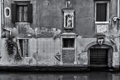 mortality (littletinperson) Tags: venice blackandwhite bw italy building monochrome architecture facade italia bn venezia sanmarco mortality riodeiognissanti littletinperson