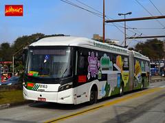 Metra 8163 (busManíaCo) Tags: metra sistema metropolitano de transporte metratransportes busmaníaco nikond3100 caioinduscar millennium trolleybus caio brt articulado mercedesbenz o500ua