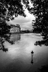Today in Paris (tomabenz) Tags: street urban blackandwhite bw white black paris monochrome seine noiretblanc sony bnw inondation streetshot crue sonya7rm2 a7rm2