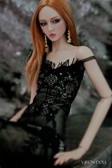 Devoted Affair Molly Hayward (V. JHON DOLL) Tags: fashion japan doll handmade lace 14 auburn lingerie copper bjd 16 resin vjhon