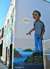 Hebru Brantley, 12 Ossington Avenue, Toronto, ON (Snuffy) Tags: toronto ontario canada mural hebrubrantley level1photographyforrecreation 12ossingtonavenue