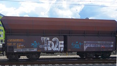 Graffiti in Graz 2016 (kami68k []) Tags: train graffiti tag tags illegal roller graz tagging freight bombing handstyles 2016 handstyle rcw arcw td2f 81countrycode 81rcw