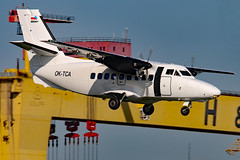 OK-TCA (GH@BHD) Tags: aircraft aviation let airliner turboprop egac bhd let410 l410 turbolet belfastcityairport vanaireurope oktca citywing