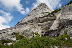 The False Peak in Front of Yak (thecobra2010) Tags: sky canada face rock clouds hope bc hiking britishcolumbia hike coquihalla climber nak scramble zopkios