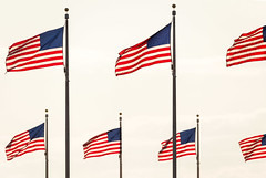 Flags (josullivan.59) Tags: flag wallpaper 3exp red travel tamron150600 usa unitedstates day detail downtown dc disctrictofcolumbia historical canon6d blue minimalism washington monument april 2016 backlit