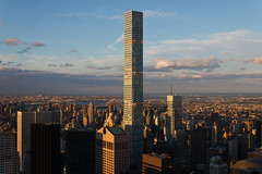 New Horizons (chantsign) Tags: newyorkcity sunset sky clouds view manhattan observationdeck viewfromtopoftherock