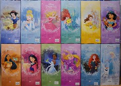 2016 Disney Princess Classic 12'' Dolls - US Disney Store Purchase - Boxed - Stacked - Rear View (drj1828) Tags: ariel us doll jasmine release merida aurora belle cinderella tiana boxed snowwhite rapunzel purchase elsa pocahontas disneystore 12inch mulan 2016 classicprincessdollcollection