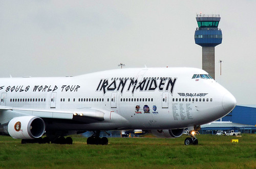 Ed Force One, Iron Maiden B747 TF-AAK Flight CC666