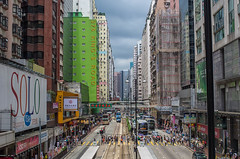 King's Road (703) Tags: asia bus china da35mmf24 hongkong kingsroad northpoint pentaxk5 tram cityscape