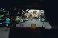 (Fredrik Andersen) Tags: road street city urban cars thailand traffic bangkok tuktuk fujifilm fujifilmx100s