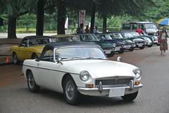 BCCM16034b (tanayan) Tags: park b classic car nikon automobile meeting mg nagoya british j1    tsuruma