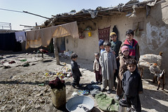 Children in front of their home in Quetta 3712 (shahidul001) Tags: poverty pakistan portrait color colour horizontal kids children daylight kid asia day child group poor shanty pakistani shack deprived slum garbagepicker drik southasia indigent quetta balochistan garbagepickers drikimages