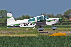 "G-BSTR AA-5 Traveler B D Jones Sturgate Fly In 05-06-16 (PlanecrazyUK) Tags: sturgate egcs ""fly in"" 050616 ""lincoln aero club ltd"" gbstr aa5traveler bdjones fly in"