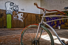 Ride a Bike (Entropic Remnants) Tags: pictures abandoned photography photo fuji image photos pics picture pic images photographs photograph fujifilm exploration asylum f4 remnants urbex statehospital entropic xt1 embreeville 1024mm embersville