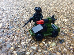 Missile vehicle (Brick Operator) Tags: drone lego vehicle army military brickarms soldier