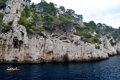 Marseille (makingacross) Tags: nikon marseille calanques water cliffs cote dazur parc national valleys massifdescalanques kayak blue azure cotedazur trees