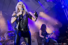 Doro @ Dokk'em Open Air 2016 (NL) (Femme.von.Steel) Tags: dokkem open air metal friesland thenetherlands femme von steel concert festival colorfull color live music emotion impression dokkemopenair doro germany heavy wildness love