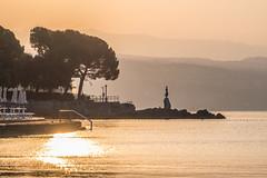 Sunrise - Opatija (wigerl) Tags: light sea sun hot licht nice meer warm europa europe foto sommer croatia opatija beautifull kroatien 2016 fujixt1