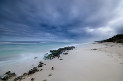 Cloudy day at the beach. (JamieMarie Oaksford) Tags: nikond7000 nikon nature northofperth naturalcolours northperth seascape sand sea sunset sigma10mm20mm skyscape seaside seawater shoreline seafoam stonesrocks seascapes landscape longexposure landscapelens lagoon mettamspools photography perth westernaustralia westernasutralia water wabeaches waterwater wideangle winter