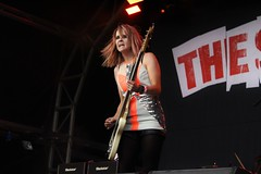 Godiva Festival - Saturday (Ruby Nixon) Tags: lighting girls summer music festival rock drums photography lights photo concert audience guitar live stage gig crowd livemusic pop photograph po coventry thesubways subways godiva godivafestival