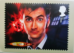 1606_Doctor Who_10th_ FDC_nerdbird (Kille.wips) Tags: tv who postcard doctor series british tvshow