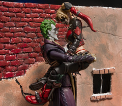 The Joker & Harley Quinn (MadMartigen) Tags: joker thejoker dccomics toy actionfigure batman harleyquinn shfiguarts
