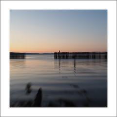 Pier ICM I (Christa (ch-cnb)) Tags: sea norway square pier norge decay olympus norwegian pro fjord trondheim zuiko decaying icm omd trndelag ranheim trondheimfjord intentionalcameramovement microfourthirds mzd1240mm em5mkii