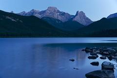 Mount Lougheed and the Wind Tower, Happy Canada Day (John Andersen (JPAndersen images)) Tags: canada mountains rockies canadian alberta cpr windtower gaplake mountlougheed