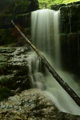 2016_0629Dark-Falls0002 (maineman152 (Lou)) Tags: summer nature water june waterfall stream dam newhampshire waterfalls brook fallingwater naturephotography naturephoto