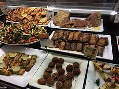 Wholefoods Kensington High St., London (tedesco57) Tags: with salmon seeds tuna falafel kebab loin teriyaki shish halloumi