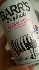 4th of July cream soda (nicolae_andrei_popa) Tags: soda drink fizzy cow hat america usa barrs can cream