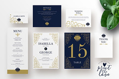 Wedding Invitation Suite - Isabella (inspiration_de) Tags: wedding typography design minimal invitation