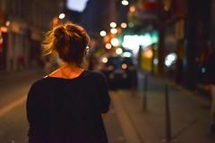 Hanging out in Lyon (Etienne_Boulanger) Tags: france girl night 50mm lights nikon lyon roam nikond750