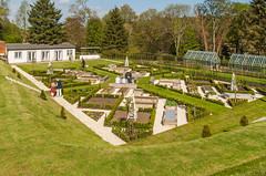 The Potager or kitchen garden at Ashe Park in Hampshire was constructed in 2011 (Anguskirk) Tags: uk england garden 17thcentury hampshire historic georgian sunken waterfeature greenhouses janeausten basingstoke countryhouse kitchengarden potager ngs raisedbeds nationalgardensscheme hedging ashepark grahamlaurahazell colrobertportal mansionstatelyhome