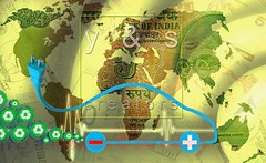 World Map 5 Rs Banknote, Concept (yogesh s more) Tags: world ocean travel blue wallpaper abstract art texture illustration digital print design globe technology graphic symbol map earth five background space web south north creative atlantic east communication business countries planet land atlas geography concept shape continent template currency global banknote rupees payacom
