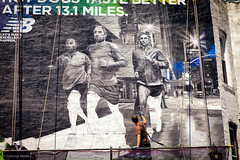 NB Runners (colossalmedia) Tags: nyc streetart art brooklyn advertising mural paint ad handpainted ooh newbalance wallmural muralist outdooradvertising handpaintedmural trompeloeilmurals walldogs outdoorad colossalmedia signpainters skyhighmurals outdooradvertisingnyc newbalancead newbalanceadvertisement
