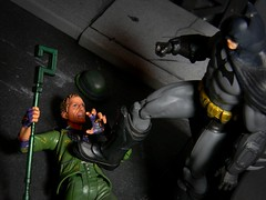 """Shut up, Edward!"" (Wizard of X) Tags: robin actionfigure harley edward batman quinn joker dccomics catwoman riddler brucewayne bobkane dickgrayson dcdirect nygma billfinger arkhamcity"