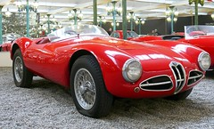 Alfa Romeo Biplace Sport C52 1953 red vrt (stkone - On vacation!) Tags: auto old france classic cars car museum french frankreich classiccar automobile foto fotografie francaise antique alt cit voiture muse musee collection coche alsace older historical oldtimer frankrijk francia classiccars elsass clasico schlumpf ancienne ancien mulhouse classique sammlung elzas vhicule automobiel alsacia schlumpfcollection citdelautomobile museenational collectionschlumpf citedelautomobile musenational