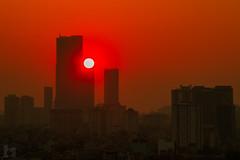 vl_01403 (Hanoi's Panorama & Skyline Gallery) Tags: street city sunset sky panorama skyline architecture skyscraper canon asian asia capital skylines landmark vietnam 7d hanoi asean appartment vitnam hni 2013 skyscrapercity caoc keangnamlandmark
