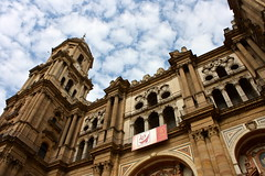 Mlaga Cathedral / Catedral de Mlaga (Trevor.Huxham) Tags: church spain cathedral andalucia malaga canonefs1855mmf3556is canoneosdigitalrebelxs