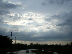 Pre-Game Sky (Georgie_grrl) Tags: light sky toronto ontario wet clouds rainy cans2s mydarkpinkside samsungd760