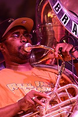 Phil Frazier, Rebirth Brass Band, Bayou Boogaloo 2013