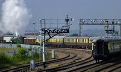 5043 arriving at Worcester (Martin Creese) Tags: 5043 vintagetrains earlofmountedgcumbe