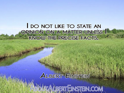 ?I do not like to state an opinion on a by QuotesEverlasting, on Flickr
